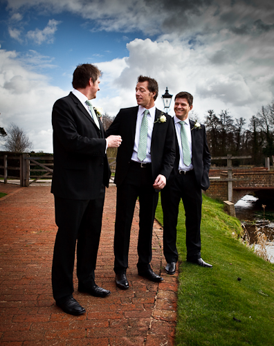 Groom, Bestman and Usher